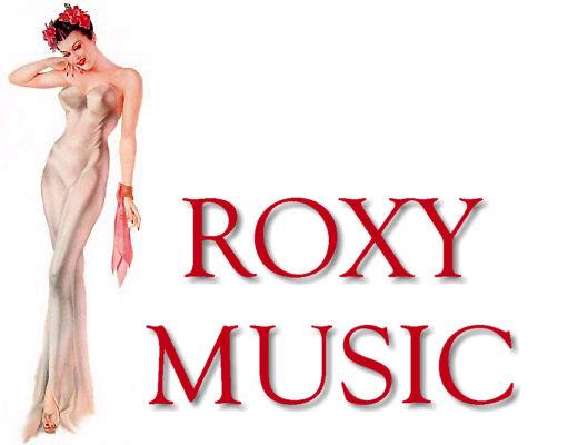 Resultado de imagen de roxy music logo